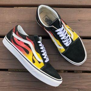 Vans Old Skool Flame Sneakers